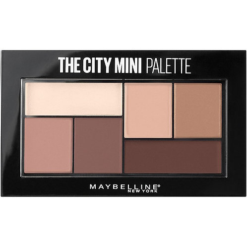"Maybelline Палетка теней для глаз ""The City Mini"""