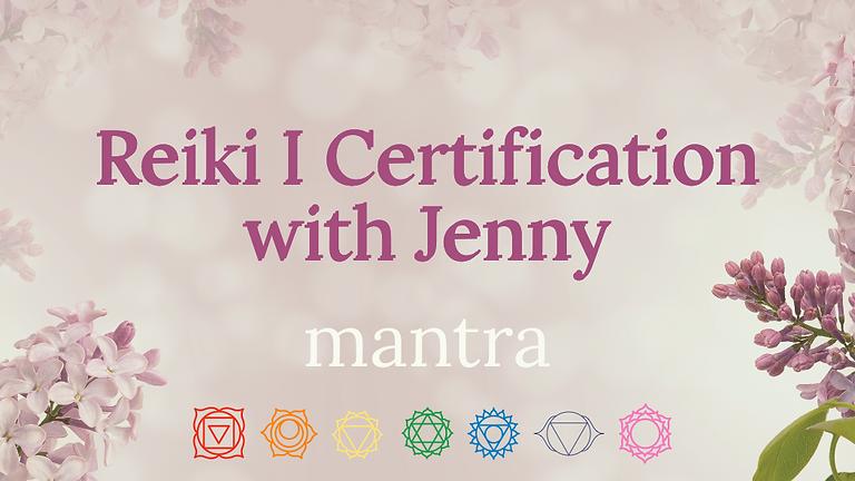 Reiki I Certification Course