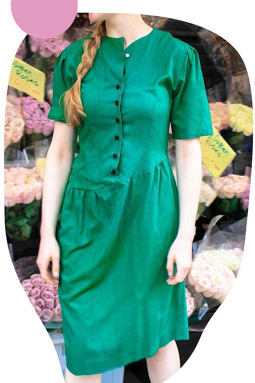 Asymmetrical Button Down Dress