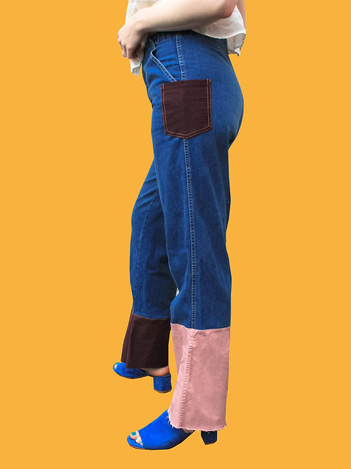 Asymmetrical Cuff Pant