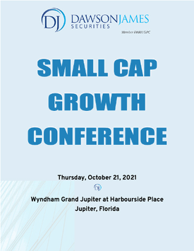 Worksport Presenting at Dawson James Securities 6th Annual Small Cap Growth Conference