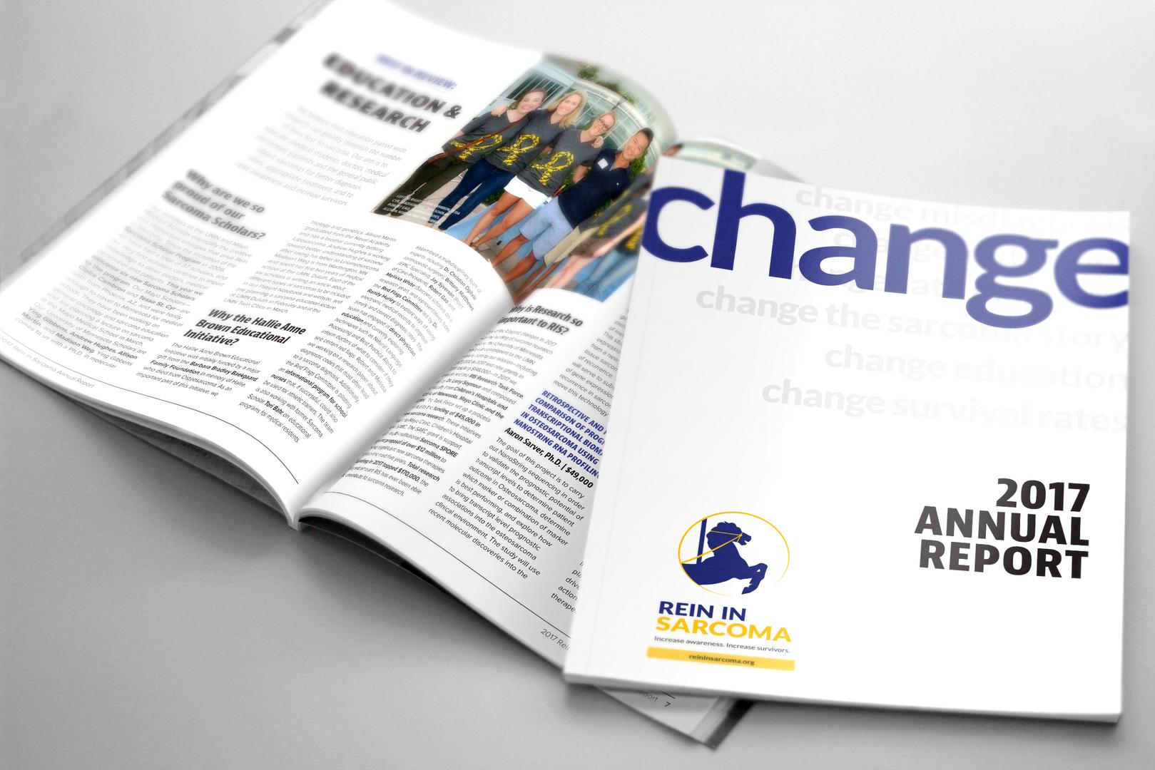 2017 Rein in Sarcoma Annual Report