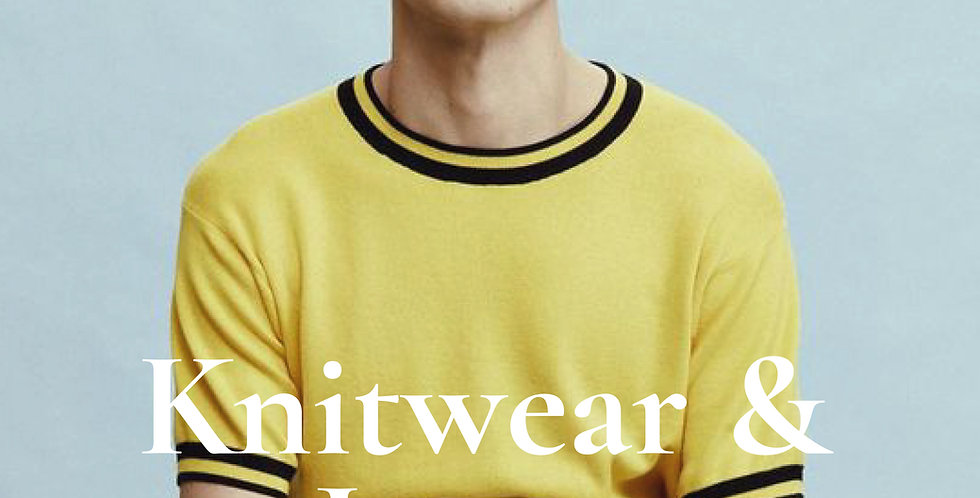 Spring Summer 2021 Mens Knitwear and Jersey Trend Forecast, fashion trends 2021 2020 fashion trends