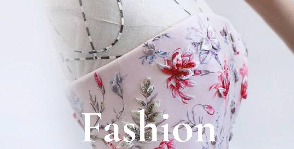 Fashion Design Tech Pack Template - Portrait