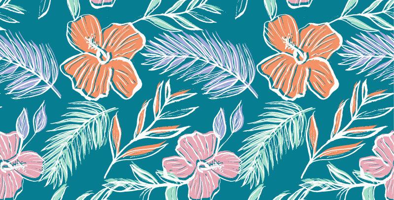 Adobe Illustrator Fashion Print Pattern Seamless vector design trend forecast, tropical, fashion trends,