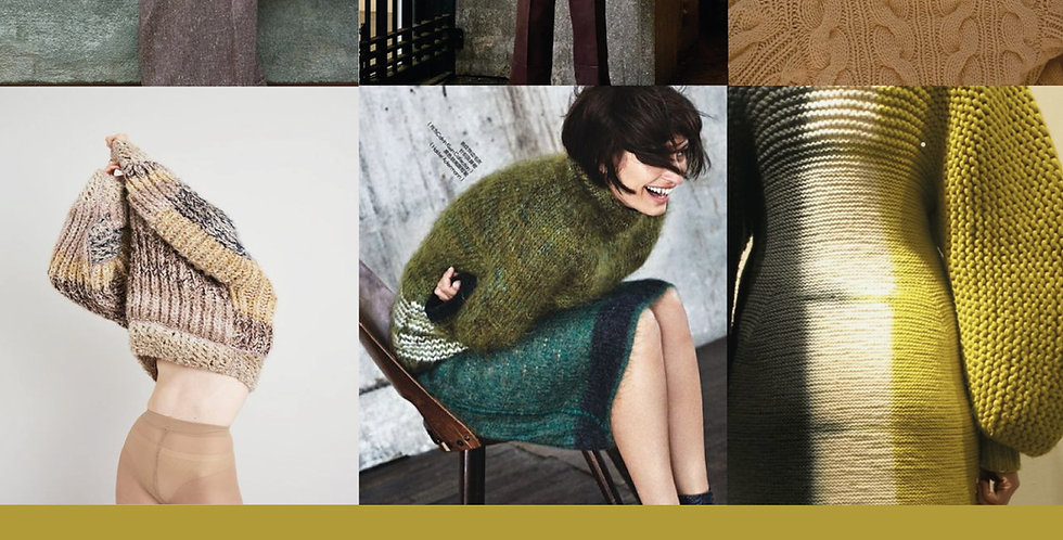 aw21 knitwear trends, autumn winter 2021 knitwear trend forecast, aw2021 fall knitwear design trends