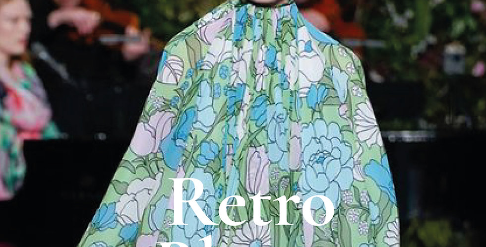 Spring Summer 2021 Womens Print Forecast, Retro Bloom, fashion trends 2021