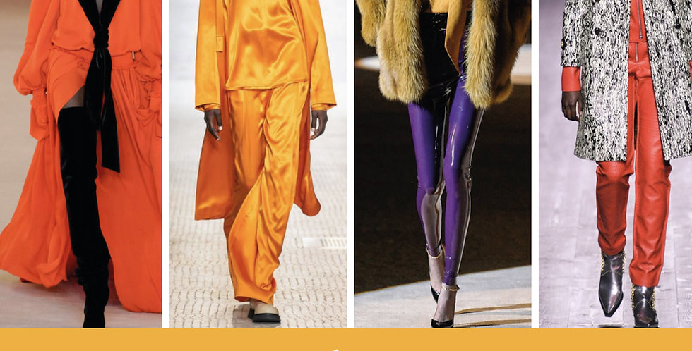 AW20 Catwalk Analysis Colour Trend Forecast, Autumn Winter 2020 Runway Trends, Fashion Trends,