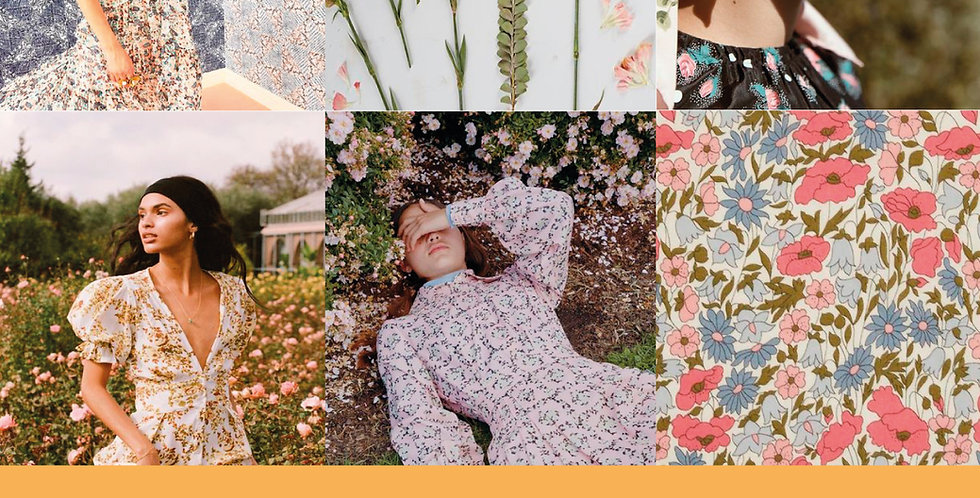 spring summer 2021 womens print and pattern trends, ss21 fashion trends, ss21 print trends, ss21 print mood boards, fashion,
