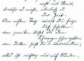 Fraktur - Sütterlin - Kurrent lesen und schreiben lernen