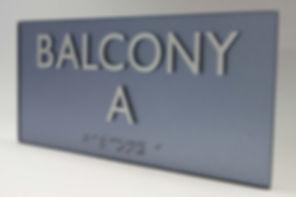 Room ID ADA Sign