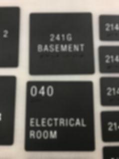 Room ADA Sign