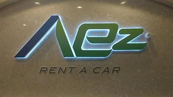 AEZ Lobby Sign