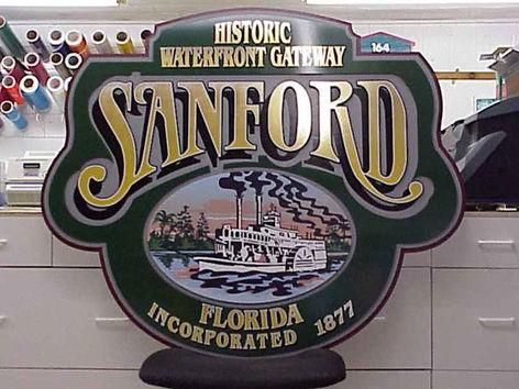 Historic Sanford Sign