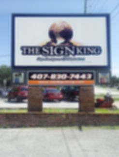 Sign King Exterior Sign