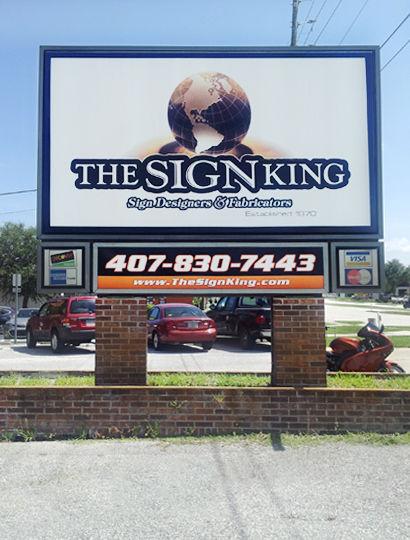 Sign King Exterior Sign