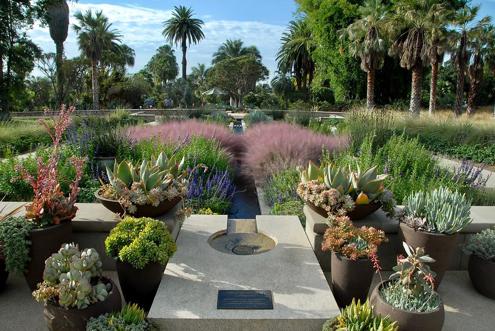 Huntington Entrance Garden
