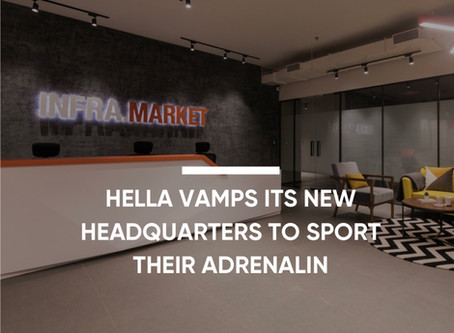 Hella Vamps Its New Headquarters To Sport Their Adrenalin