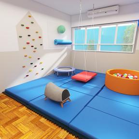Sala de terapia ocupacional - Núcleo Plural