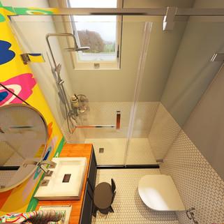 Um banheiro para as crianças da casa!