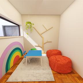 Sala de espera infantill - Núcleo Plural
