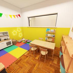 Sala de fonoaudiologia e psicologia infantil - Núcleo Plural