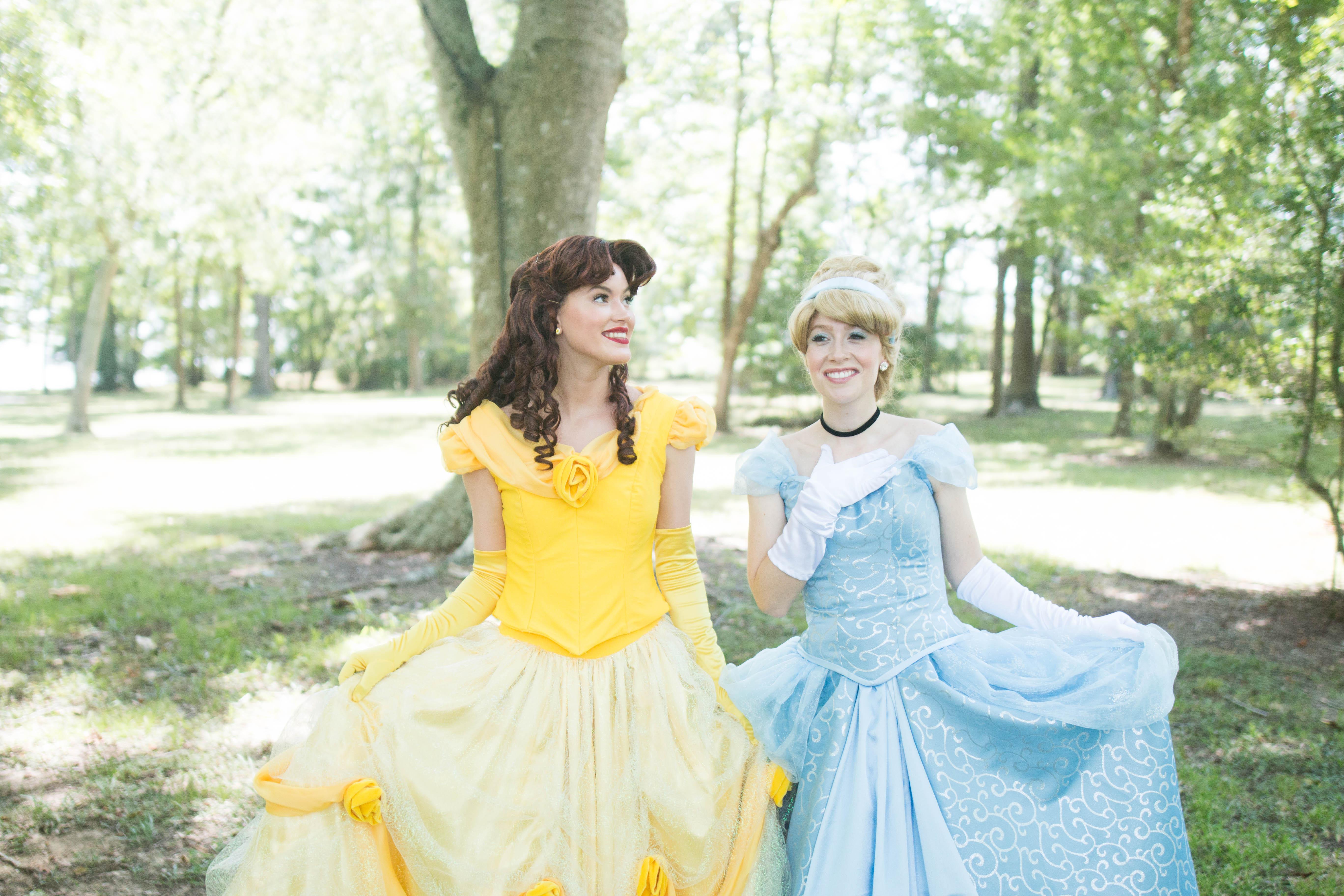 Belle & Cinderella