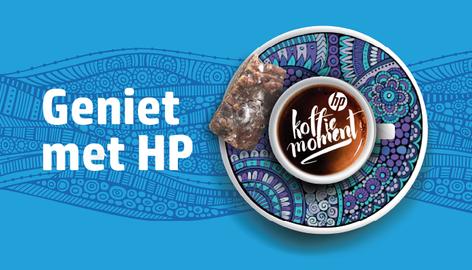 Case HP Koffiemomentje mailing: Hoe je met koffie en iets lekkers een hoge respons krijgt.