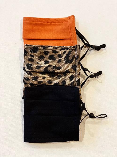 3-Pack Custom Face Coverings