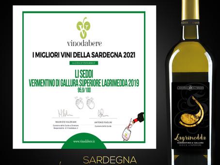 La guida VinodaBere 2021,🎊premia Lagrimedda 2019, un grandissimo successo che condividiamo con voi!