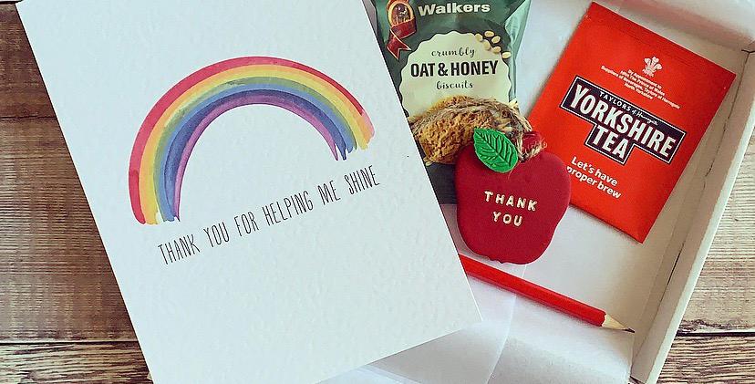 Teacher Key Worker Rainbow Gift Bundle