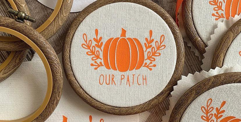 Our Patch Pumpkin Mini Hoop