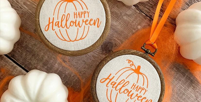 Happy Halloween Mini Hoop