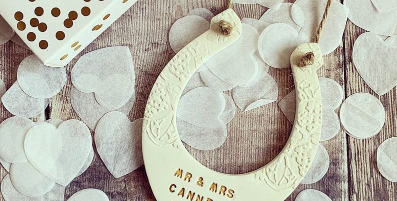 Personalised Clay Horseshoe