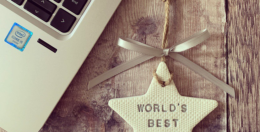 World's Best Dad Father's Day Star