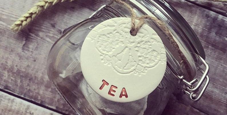 TEA Kitchen Tags
