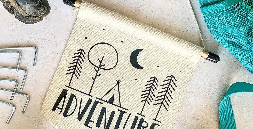 Adventure Tipi Banner
