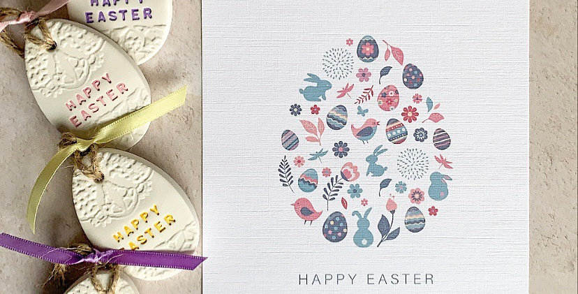 Happy Easter Egg Print
