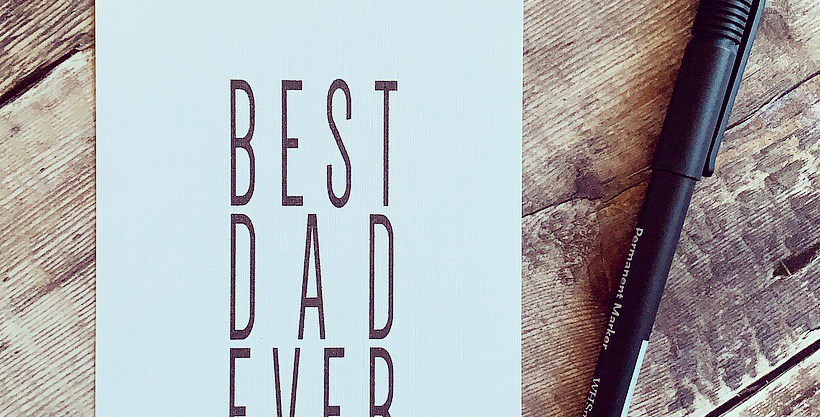 Best Dad Ever Print