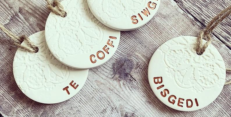 Welsh Clay Kitchen Tags