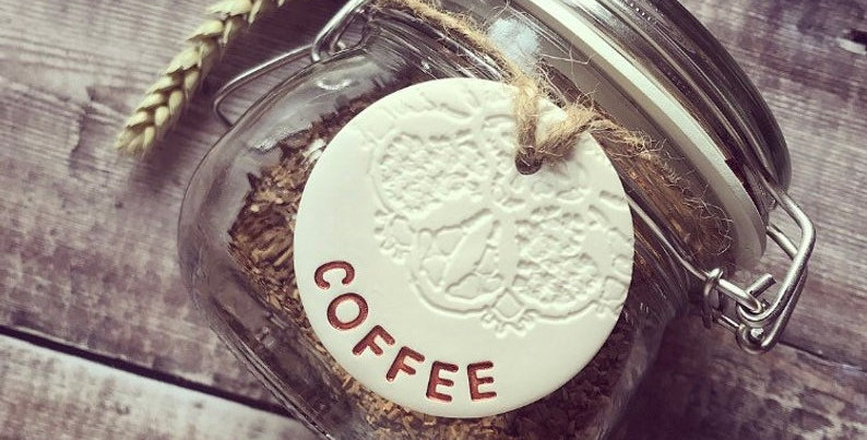 COFFEE Kitchen Tags