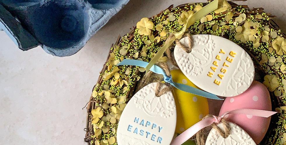 Lace Easter Egg Decoration