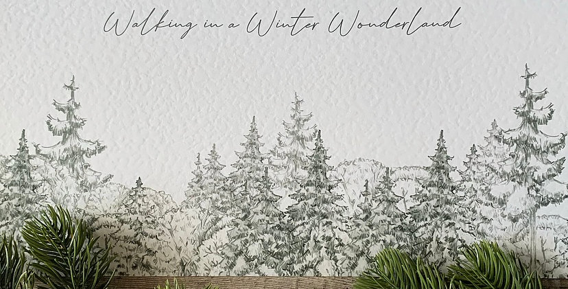 Walking in a Winter Wonderland Print