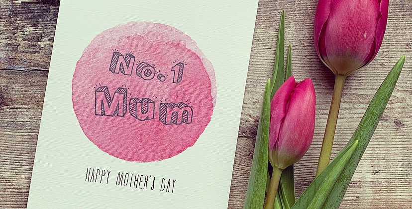 No.1 Mum Mother's Day Card