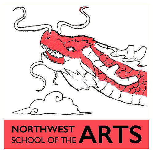 Red Dragon Sticker/ 2 for $1