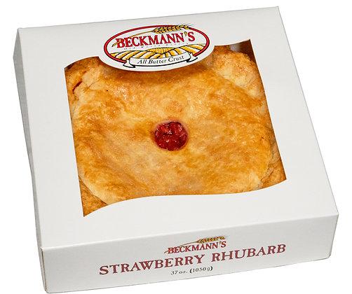 9'' Strawberry Rhubarb Pie
