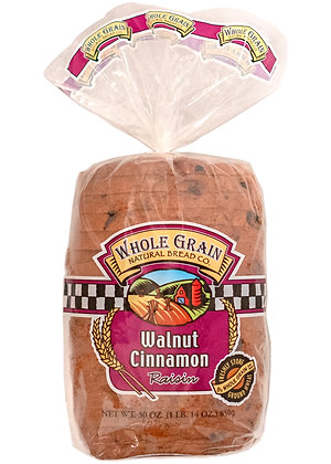 Whole Grain Walnut Cinnamon Raisin