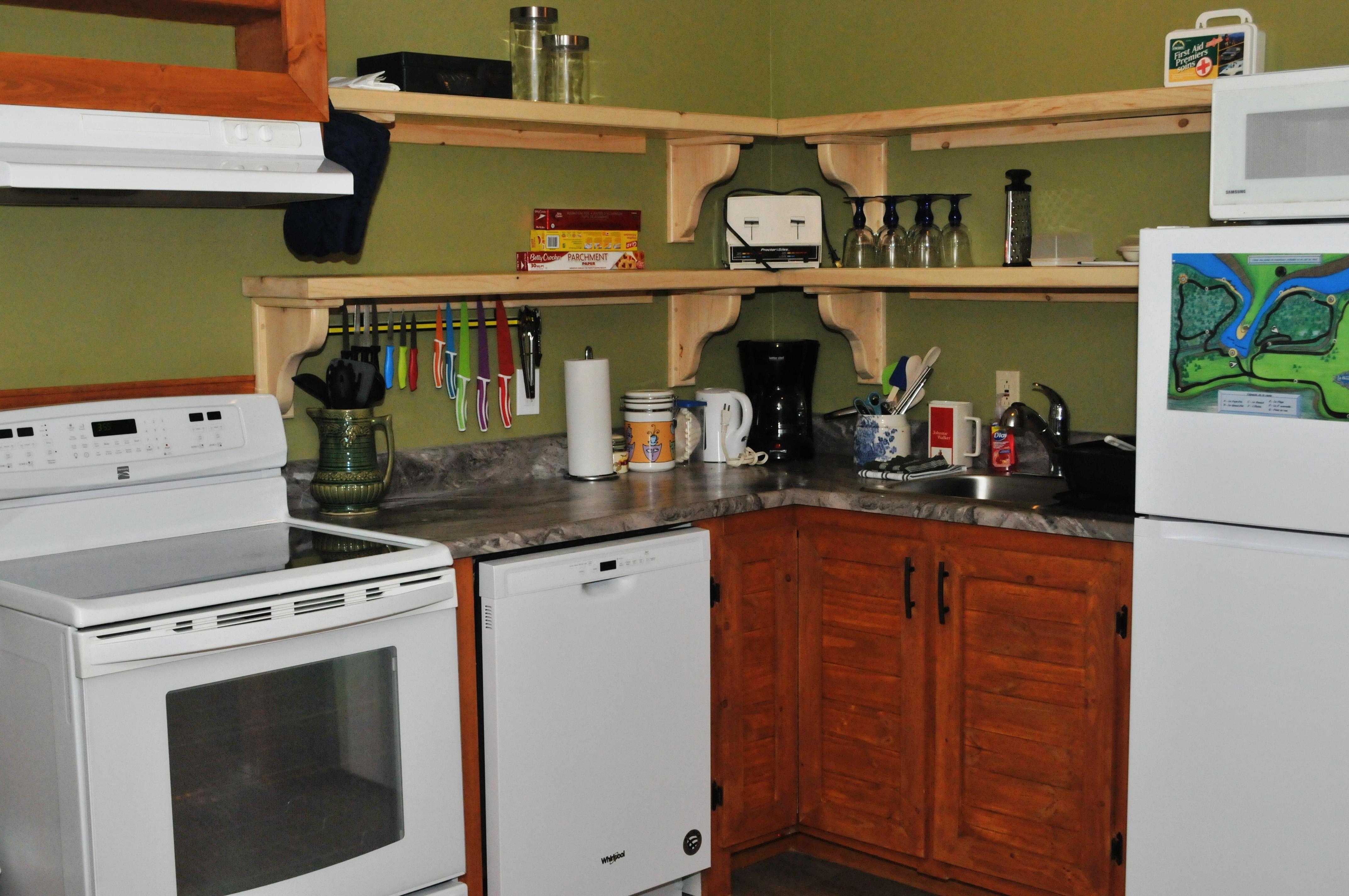 Cuisine électro et comptoir