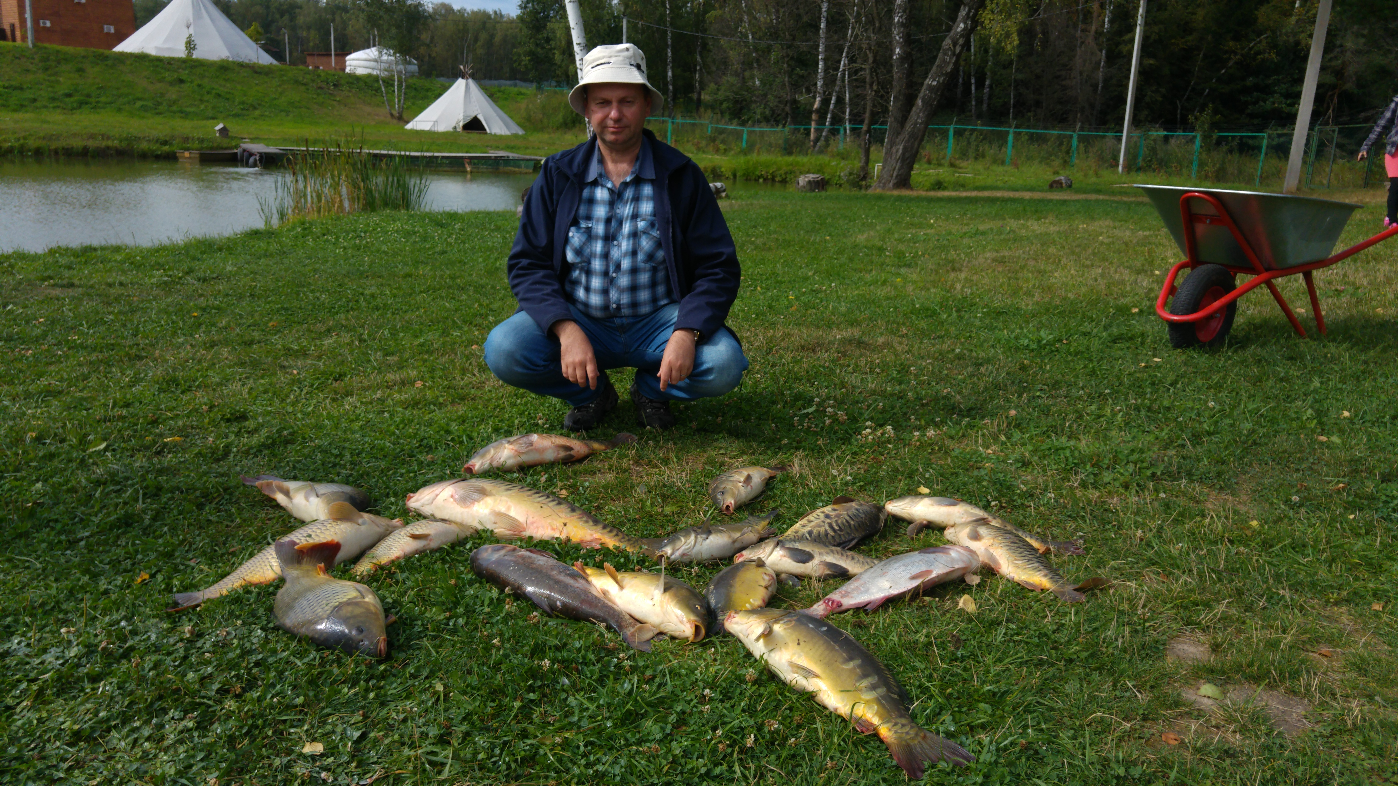 Рыбалка в р-не г. Чехова август 2015