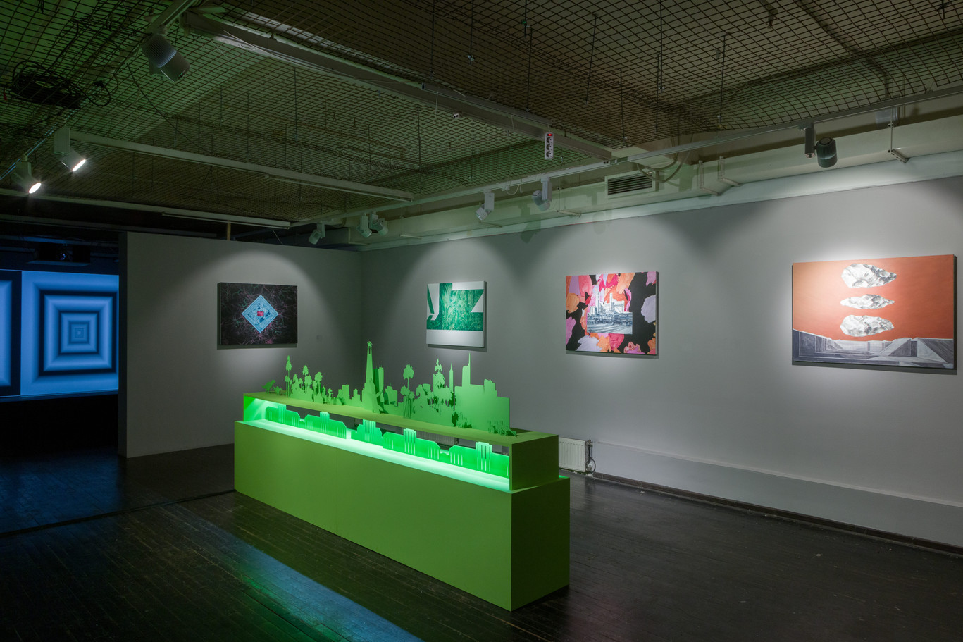 Exposition view 2020–2021